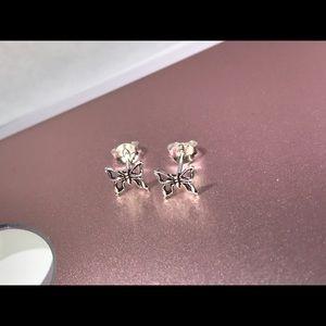 Sterling silver butterfly 🦋 earrings